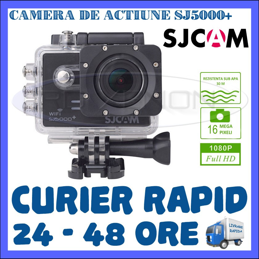 camera de actiune sport sj5000 plus full hd 1080p 16 mpx accesorii de fixare camera video. Black Bedroom Furniture Sets. Home Design Ideas