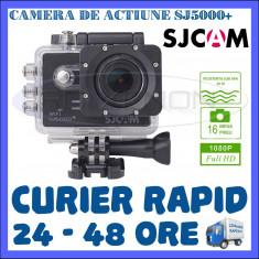 CAMERA DE ACTIUNE SPORT SJ5000+ PLUS, FULL HD 1080p, 16 MPX, ACCESORII DE FIXARE, Card de memorie, CMOS, SJCAM