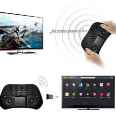 Mini tastatura wirelles cu TouchPad si Bluetooth Measy, Fara fir