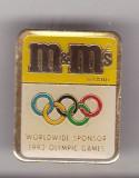 Bnk ins M&M`s sponsor Jocurile Olimpice Barcelona 1992