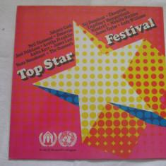 Various – Top Star Festival _ vinyl(LP, compilatie) Olanda - Muzica Pop Altele, VINIL