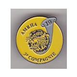 Bnk ins Franta - Insigna militara - AMRHA 3e Comapagnie - infanterie - Ordin/ Decoratie