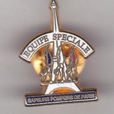 bnk ins Franta - Insigna pompieri - Sapeurs Pompiers du Paris