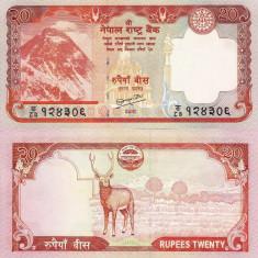 NEPAL 20 rupees ND 2010 UNC!!! - bancnota asia