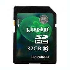 SD-HC CARD KINGSTONE model: SD10V/32GB capacitate: 32 GB clasa: 10 culoare: NEGRU - Card Micro SD
