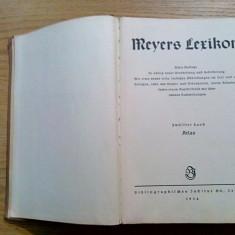 MEYERS LEXIKON * ATLAS - Leipzig, vol. 12, 1936