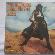 Los Cuatros Paraguayos vol.2 _ vinyl(LP) Franta - Muzica Latino Altele, VINIL