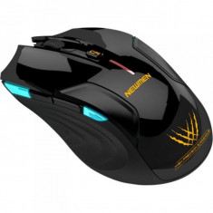Mouse Newmen E500, gaming, Wireless, USB, Optic, 1600dpi, Negru