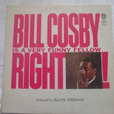 Bill Cosby ‎– Bill Cosby Is A Very Funny Fellow Right! _ vinyl(LP) SUA non music - Muzica Clasica warner, VINIL