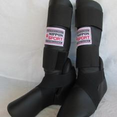 Protectie Tibie+Picior NIPPON Sport pt. sporturi de lupta, marime XL