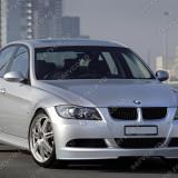 Prelungire extensie spoiler buza bara fata BMW E90 E91 Alpina seria 3 2005 2008 - Prelungire bara fata tuning, 3 (E90) - [2005 - 2013]