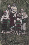 PORT NATIONAL DIN BORSA, FAMILIE DE ROMANI  DIN BORSA IN COSTUME POPULARE