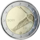 Finlanda 2 euro comemorativa 2011, UNC
