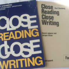 KURT STENBERG CLOSE READING CLOSE WRITING - Curs Limba Engleza Altele