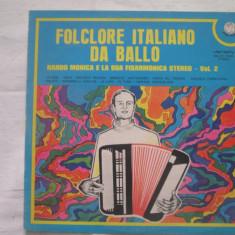 Nando Monica - Folclore Italiano Da Ballo _ vinyl (LP) Italia - Muzica Populara Altele, VINIL