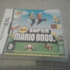 Super Mario Bros - Joc Nintendo DS ( GameLand ) - Jocuri Nintendo DS, Actiune, 3+, Single player