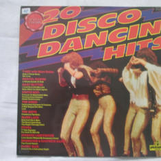 Various ‎– 20 Disco Dancin' Hits _ vinyl(LP, compilatie) UK - Muzica Dance Altele, VINIL