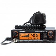 STATIE RADIO CB AM/FM/SSB CU SQUELCH AUTOMAT PRESIDENT GRANT II ASC TXMU510
