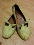 Pantofi din piele marimea 38,5, sunt noi!, Crem, Cu talpa joasa, Bally