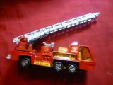 Jucarie -Masina Pompieri Match Box Lesney ,metalica L= 13,8 cm ,Anglia