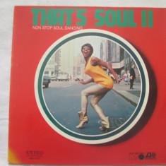 The Samson- & Merrill-Soul-Band – That's Soul II: Non Stop Soul Dancing Vinyl - Muzica R&B Altele, VINIL