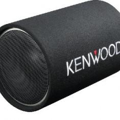 Subwoofer auto pasiv Kenwood cu incinta tub si difuzor de 12 inch
