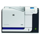 Imprimanta Laser HP Color LaserJet CP3525DN, 30 ppm, 1200 x 600 dpi, Duplex, USB, Retea, Cartuse incluse - Imprimanta laser color