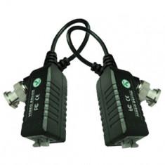 Set 2 videobaloane pasive Pxw 1 canal video, prindere cabluri cu clip