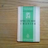 SPRE UN NOU UMANISM - Stefan Teodorescu - 1937, 52 p. - Carte veche