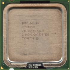 Procesor Intel Pentium Dual Core D805, 2.66Ghz, 2Mb Cache, 533Mhz FSB
