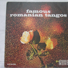 Orchestra Electrecord - Famous Romanian Tangos _ vinyl(LP) Romania - Muzica Latino electrecord, VINIL
