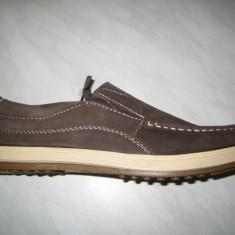 Pantofi piele barbati WINK;cod LL6164-1;marime:42-46 - Pantofi barbat Wink, Marime: 44, Culoare: Maro, Piele naturala