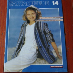 Revista vintage de moda in limba italiana - Cartamodello - anii 80 !!! - Revista moda