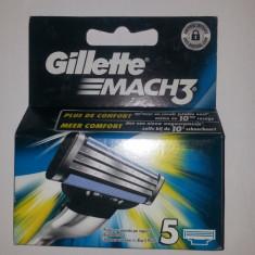 Rezerve Gillette Mach3, 5 buc
