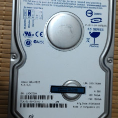 HDD PC Maxtor 160Gb IDE - Hard Disk Maxtor, 100-199 GB, Rotatii: 7200