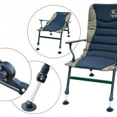 Scaun cu Cotiere Baracuda HYC 009AL-XL (III) - Mobilier camping