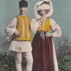 ROMANI DIN TRANSILVANIA, IN COSTUME POPULARE - Carte postala tematica, Necirculata, Printata