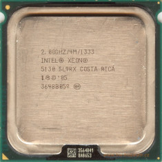 Procesor Intel Xeon Dual Core 5130, 2000Mhz, 64-bit, Socket LGA771, 1333Mhz FSB - Procesor server