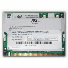 Mini PCI Wireless LAN Card, diverse modele Intel