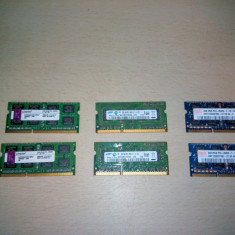 Memorie laptop SODIMM 2Gb DDR3 1066 Mhz PC3 8500 (1x2Gb)