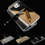 Husa Samsung Galaxy S6 TPU Ultra Thin Mirror Gold