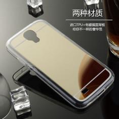 Husa Samsung Galaxy S4 i9500 TPU Ultra Thin Mirror, Transparent, Gel TPU, Carcasa