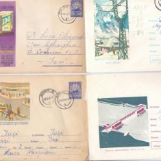 PLICURI ILUSTRATE INTREGURI POSTALE, Dupa 1950