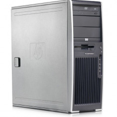 Workstation Second Hand HP XW6200, 2 X XEON 3.2 Ghz, 4Gb DDR2 ECC, 2 x 36Gb, CD-ROM, NVIDIA QUADRO NVS 440 - Sisteme desktop fara monitor