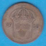(2) MONEDA DIN ARGINT SUEDIA - 10 ORE 1916, Europa