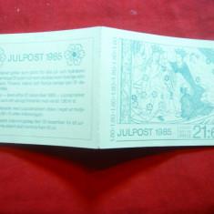 Carnet prezentare Timbre- Iulpost Pictura 1985 Suedia 12 val