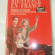 METHODE DE FRANCAISE CAHIER D`EXERCICES TOME 1 EPISODES 1 A 13 - Curs Limba Franceza Altele