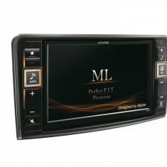 SISTEM 2 DIN CU NAVIGATIE PENTRU MERCEDES-BENZ ML ALPINE X800D-ML - Navigatie auto