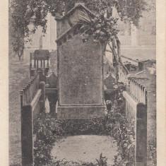 AVRIG, MORMANTUL LUI GHEORGHE LAZAR, CIRCULATA OCT. ''928 - Carte Postala Transilvania dupa 1918, Necirculata, Printata