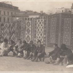 SALUTARI DIN BUCURESTI, VANZATORII DE COVOARE, CIRCULATA XI 1932 - Carte Postala Muntenia dupa 1918, Fotografie
